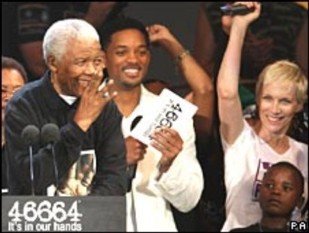 Nelson Mandela 90th Birthday concert